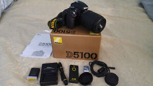NIKON D5100 FOR SALE West Island Greater Montréal image 1