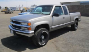 Looking for a 1995-1998 Chev or GM 1500 4x4 will pay good price