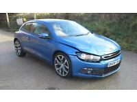 2009 Volkswagen Scirocco 2.0 TSI GT DAMAGED SPARES OR REPAIR SALVAGE