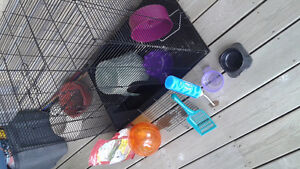 Rodent cage with toys Kitchener / Waterloo Kitchener Area image 5