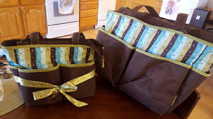 2 diaper bag set
