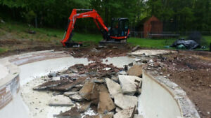 Inground Pool Demolition Services