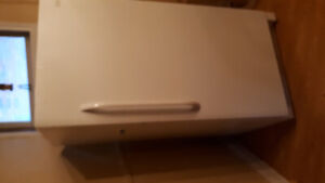 UPRIGHT FRIGIDAIRE FREEZER, Clean, Purchased new in 2016