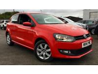 2014 Volkswagen Polo 1.2 60 Match Edition 3dr Manual Petrol Hatchback