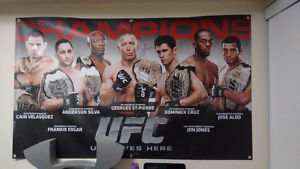 UFC First Champions Poster
