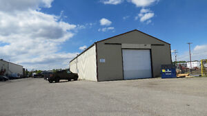 Industrial Bay for Lease with Attached Yard in Okotoks