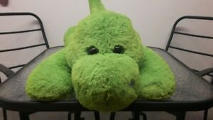 Large, Green, Stuffed Dinosaur Toy