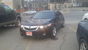 2010 ACURA TSX .  FULLY LOADED ........BLACK ON BLACK