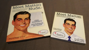 The Balm Meet Matt(e) Eyeshadow Palettes