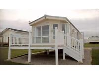Save £11,247 includes glass deck 2 Bed Static caravan with bath sea view park