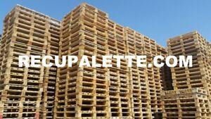 Palette de bois 48X40-HT standard à blocs, Wood pallet
