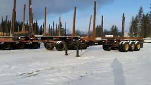 Log trailer $12000