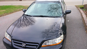 2001 accord low km AS IS
