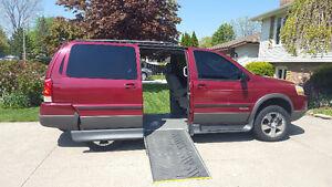 2005 Pontiac Montana SV6  Handicap Accessible Minivan