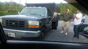 ford 1 ton xl with dump