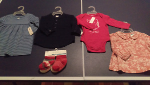Brand New 3-6 Month Girls Clothing Lot