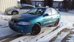 03 Sentra - auto - LOADED - WINTER TIRES - A/C - ONLY 194,000KMS