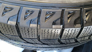 245/65R17 Michelin winter tires from Toyota highlander Edmonton Edmonton Area image 3