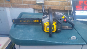 Wanted broken chainsaws free or cheap.  Also repairs available