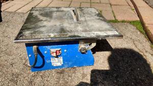 7 inch Master cut tile saw