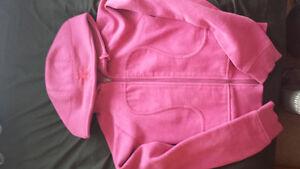 Pink Lululemon sweater / headband