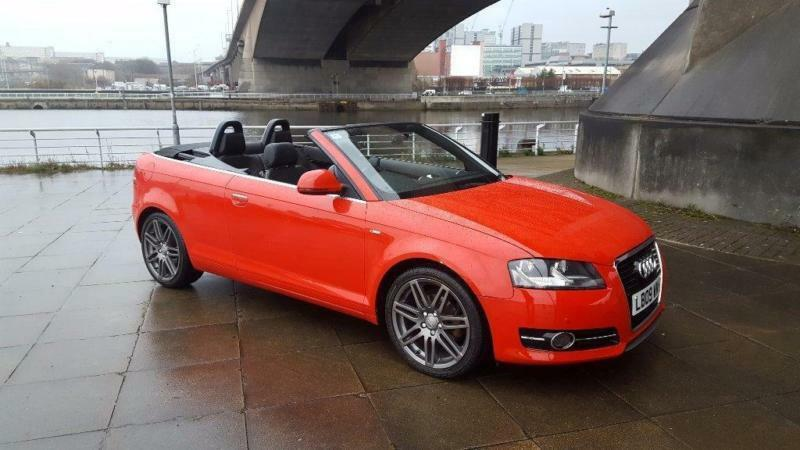 2009 audi a3 cabriolet 1 9 tdi s line 2dr in southside glasgow gumtree. Black Bedroom Furniture Sets. Home Design Ideas