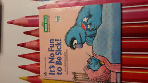 It's No Fun to Be Sick (Sesame Street growing up book)