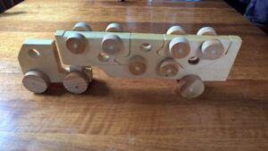 Pine Car Carrier Puzzle