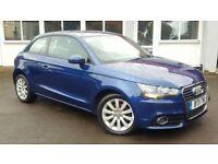 Audi A1 1.6 TDI SPORT 105PS (blue) 2011