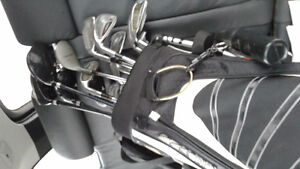 Set of left hand clubs