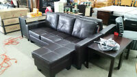 Brand New reversable Lounger sectional - Delivery Available