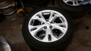 2012 Ford Fusion Alloys 5 x 114.3 / 225 50 17 Michelin Tires
