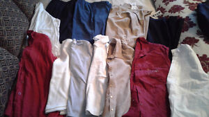 M-l shirts and pants, 1 skirt, $1- $2