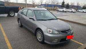 2005 Acura EL Sedan- MANUAL - LOW KM - 3100$