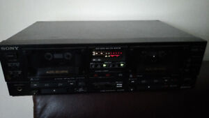 Sony TC-WR750 Dual Stereo Cassestte Deck