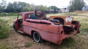 Old dodge truck shell  1968 ish