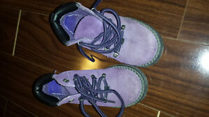 size 9 purple hiking boots