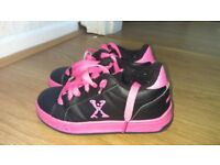 Sidewalk Sport Sport Lane Girls Wheeled Skate Shoes size 12