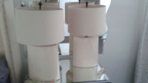 2 Table Lamps