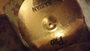 Sabian Pro 20 on ride/STAND