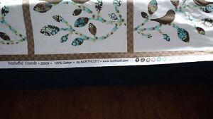 Cute fabric tabs Kitchener / Waterloo Kitchener Area image 3