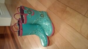 Girls Rubber Boots Size 11