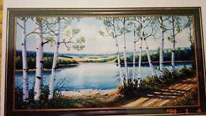 Sanford Fisher oil paintings