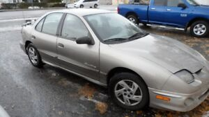 2001 Pontiac Sunfire GTX Sedan