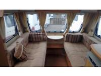 Swift charisma 4 berth fixed bed for sale