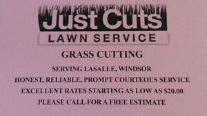 GRASS CUTTING SERVICE EXCELLENT WORK LOW PRICES!