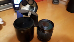 Older Mirror Lens with Filters