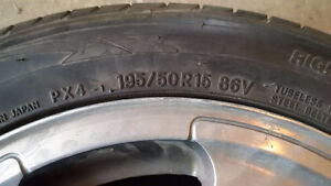 195/50 R15 - VW Passat Original Wheels and Tires Strathcona County Edmonton Area image 3