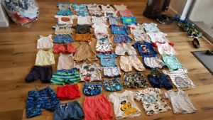 Baby summer bundle size 0