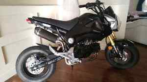 HONDA GROM 2014 MOTORCYCLE-MINT